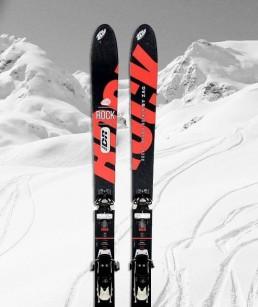Ski Noir adulte