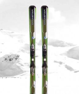 Skis adult range Red