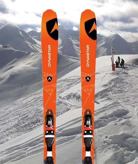 Peyragudes location Ski - ski Noir - Dynastar Powertrack 84