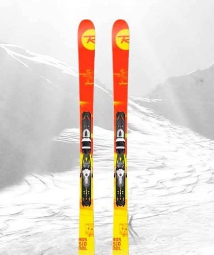 Peyragudes Location Ski Adulte, modèle Ski Rouge pour skieur à l'aise sur tout le domaine de Peyragudes
