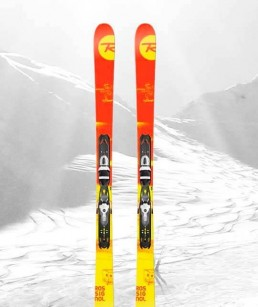 Ski Rouge adulte