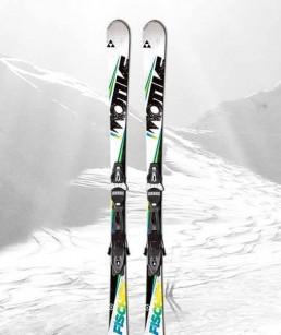 Esquís Azul adulto