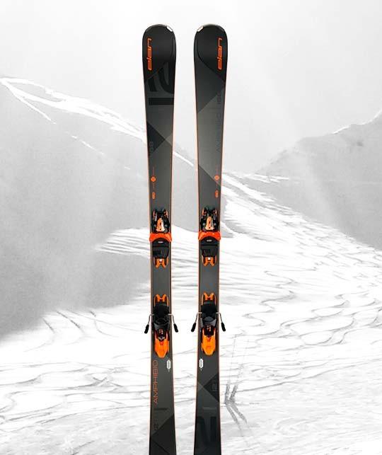 Peyragudes location Ski - ski Noir - Adulte, modèle haut de gamme