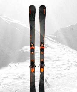 Esquí Negro adulto