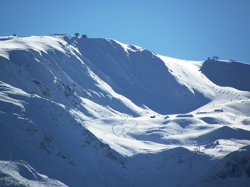 Peyragudes under snow : 24 november 2016