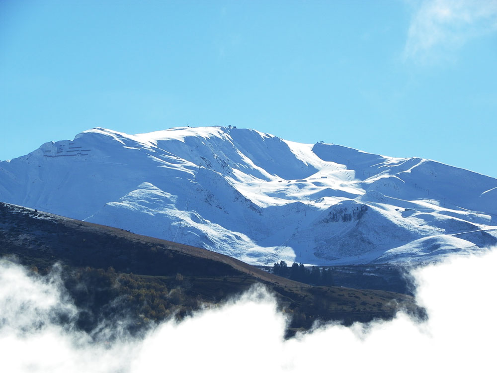 Snow on Peyragudes : 24 nov. 2016