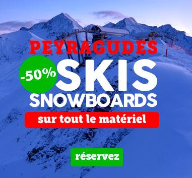 Peyragudes : -50% en esquís reservados online.