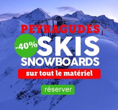 Peyragudes Promo -40% sur les locations de skis !