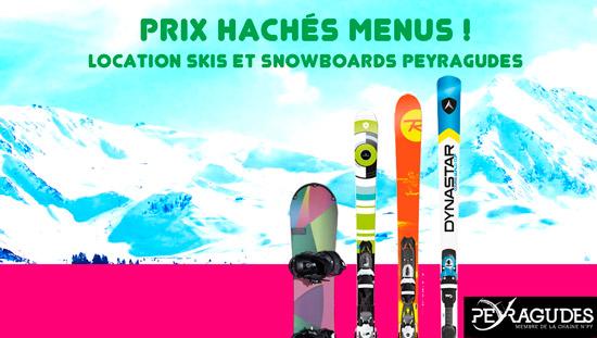 Promo locations skis Peyragudes - saison 2015-2016