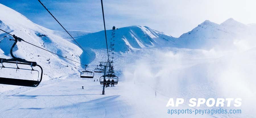 Open ski slopes in Peyragudes today