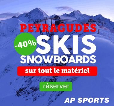 Peyragudes, réservez vos ski en ligne, -40% sur tout le matériel de glisse en location