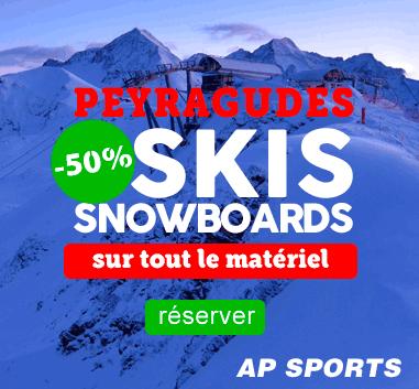 Peyragudes Promo -50% sur les locations de skis !