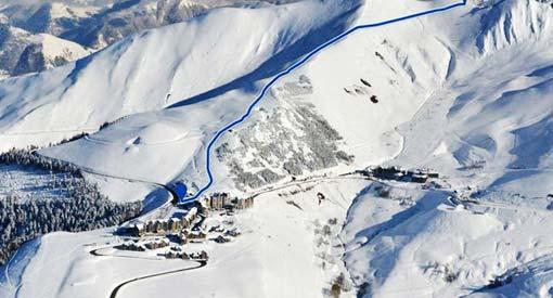Peyragudes : nouvelle piste de ski, la 007