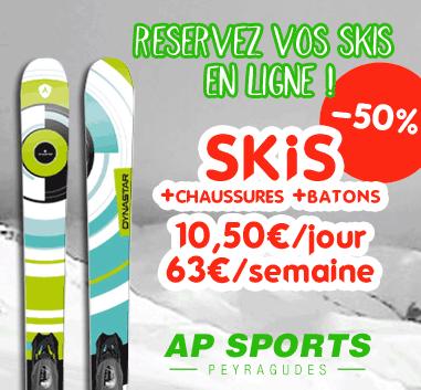 Peyragudes PROMO 50%off on all ski rental