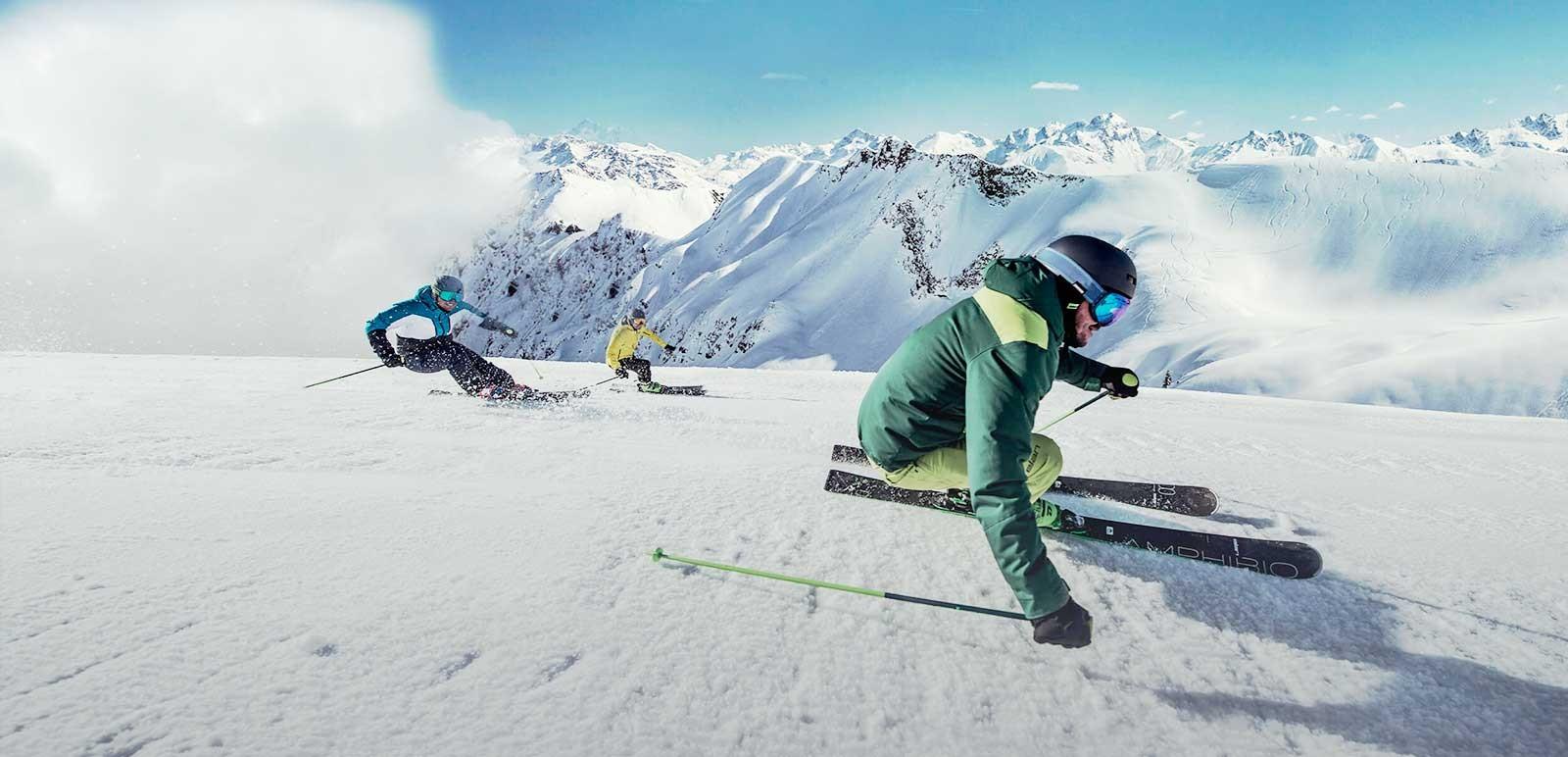 Peyragudes : -50% sur les location de skis en ligne.