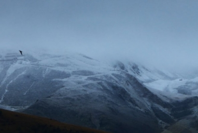 First sprinkling of snow on Peyragudes